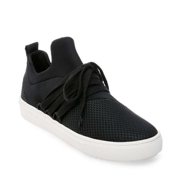 173a375efae Steve Madden Size 11 Men's Lancer Black Sneakers